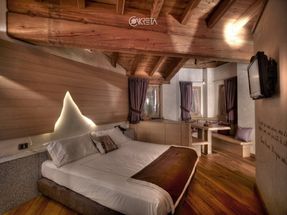 Contract dolcevita chalet boutique for Arredamento chalet legno